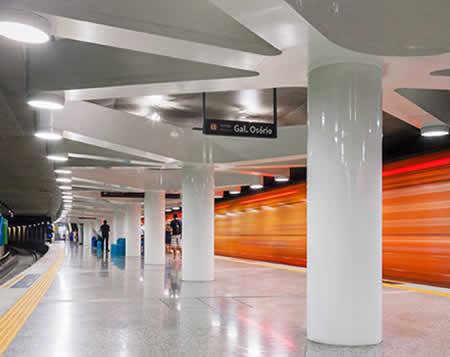 Estação Uruguai do Metrô do Rio de Janeiro