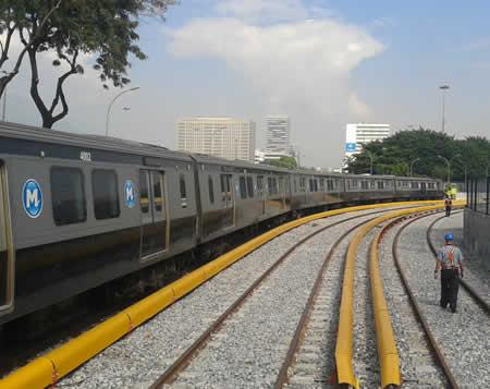 Pátio Leste do Metrô do Rio de Janeiro