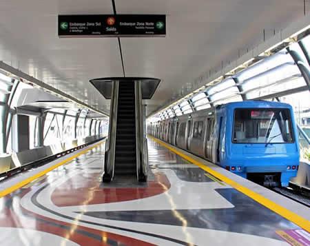 Linha 1A e Estação Cidade Nova do Metrô do Rio de Janeiro